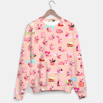 Thumbnail image of Rosa the Pig Pattern 2 Sweater, Live Heroes