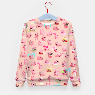 Thumbnail image of Rosa the Pig Pattern 2 Kid's Sweater, Live Heroes