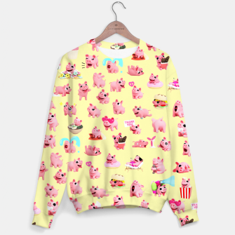 Rosa the Pig Pattern 2 Yellow Sweater thumbnail image