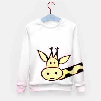The Giraffe Kid's Sweater Bild der Miniatur
