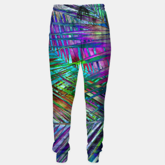 Imagen en miniatura de Multicolor Palm Leaves Sweatpants, Live Heroes