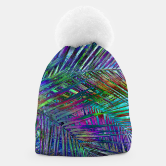 Multicolor Palm Leaves Beanie imagen en miniatura