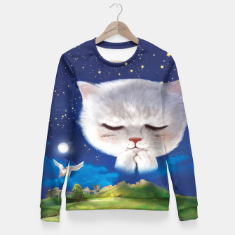 Thumbnail image of Pray Fitted Waist Sweater, Live Heroes