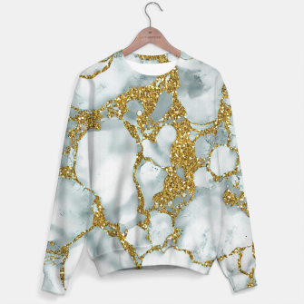 Imagen en miniatura de Painted Marble Texture with Gold Sweater, Live Heroes