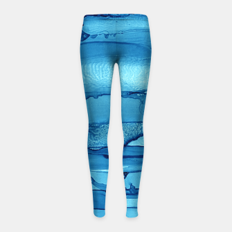 Waves Girl's Leggings imagen en miniatura