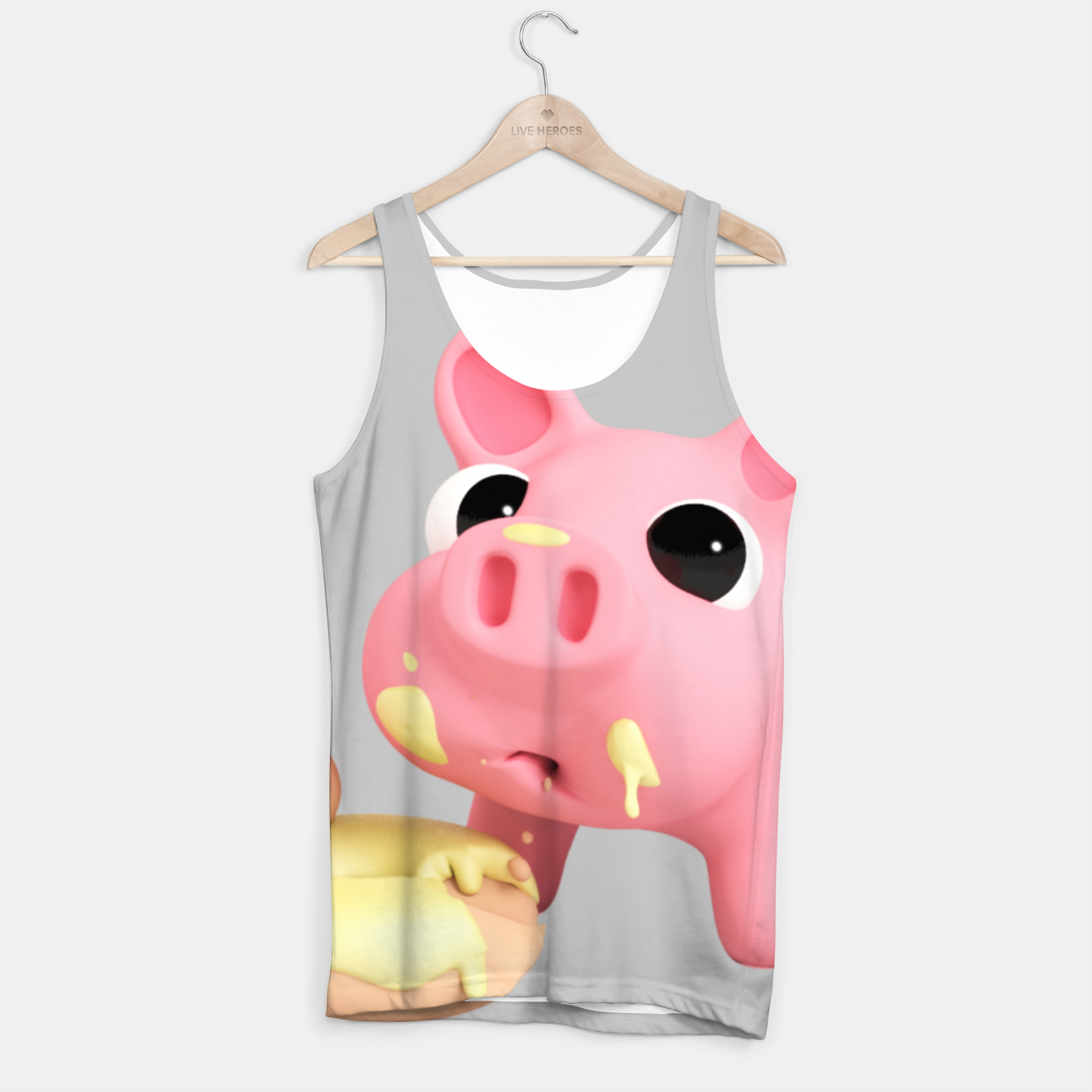 Image of Rosa Donut BIG Tank Top - Live Heroes