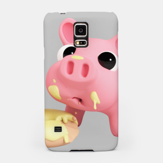Thumbnail image of Rosa Donut BIG Samsung Case, Live Heroes