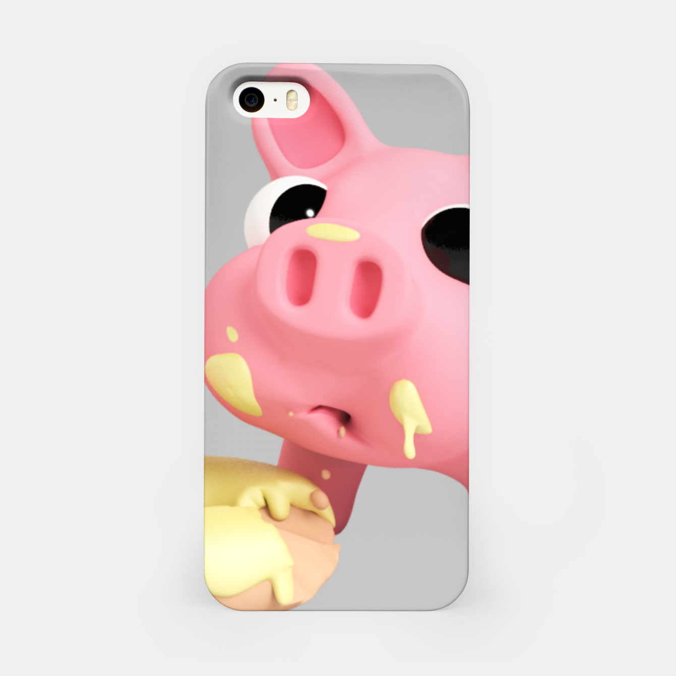 Image of Rosa Donut BIG iPhone Case - Live Heroes