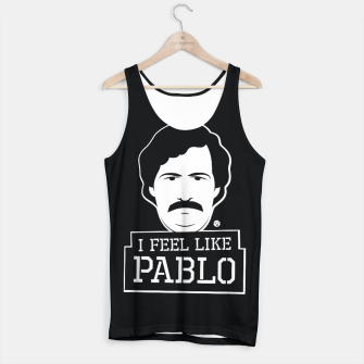 Thumbnail image of I Feel Like Pablo BLK Tank Top, Live Heroes