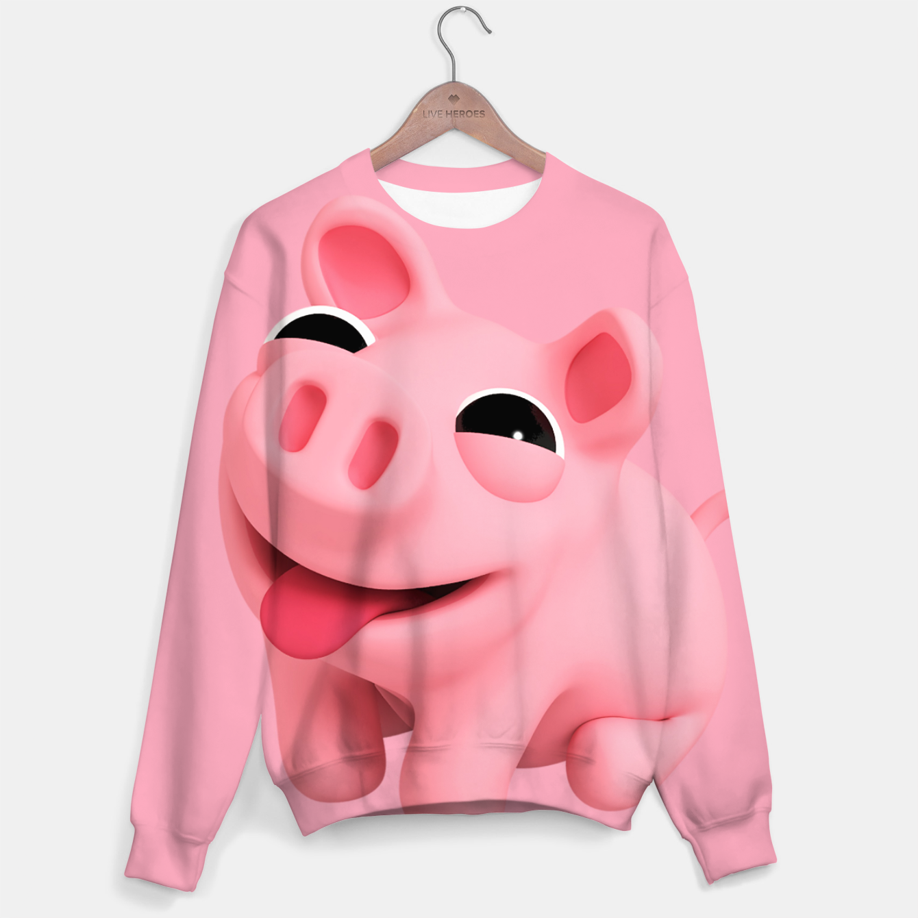 Image of Rosa Sit BIG Cotton sweater - Live Heroes