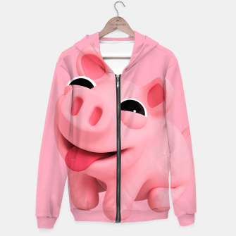 Rosa Sit BIG Cotton zip up hoodie thumbnail image