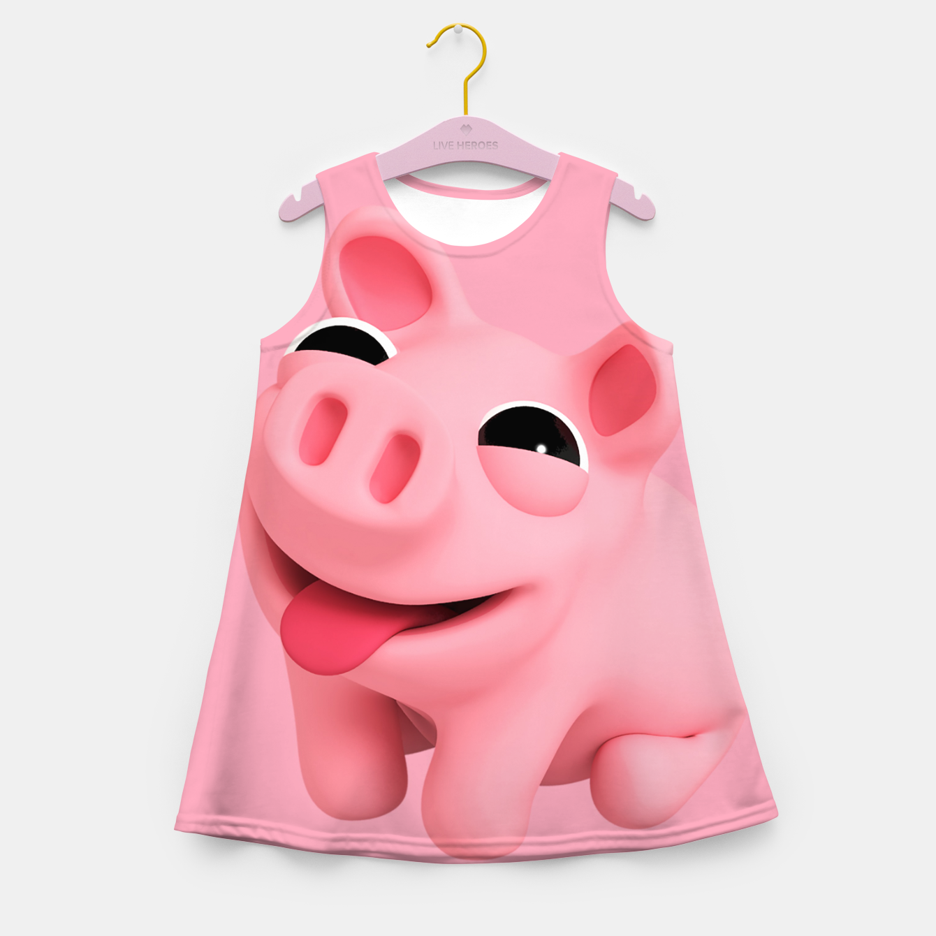 Image of Rosa Sit BIG Girl's summer dress - Live Heroes