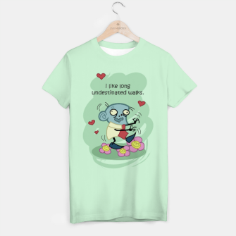 Thumbnail image of The Walking Dead - Steve, the loving zombie - T-shirt, Live Heroes