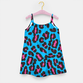 Thumbnail image of Blue Leopard Girl's dress, Live Heroes