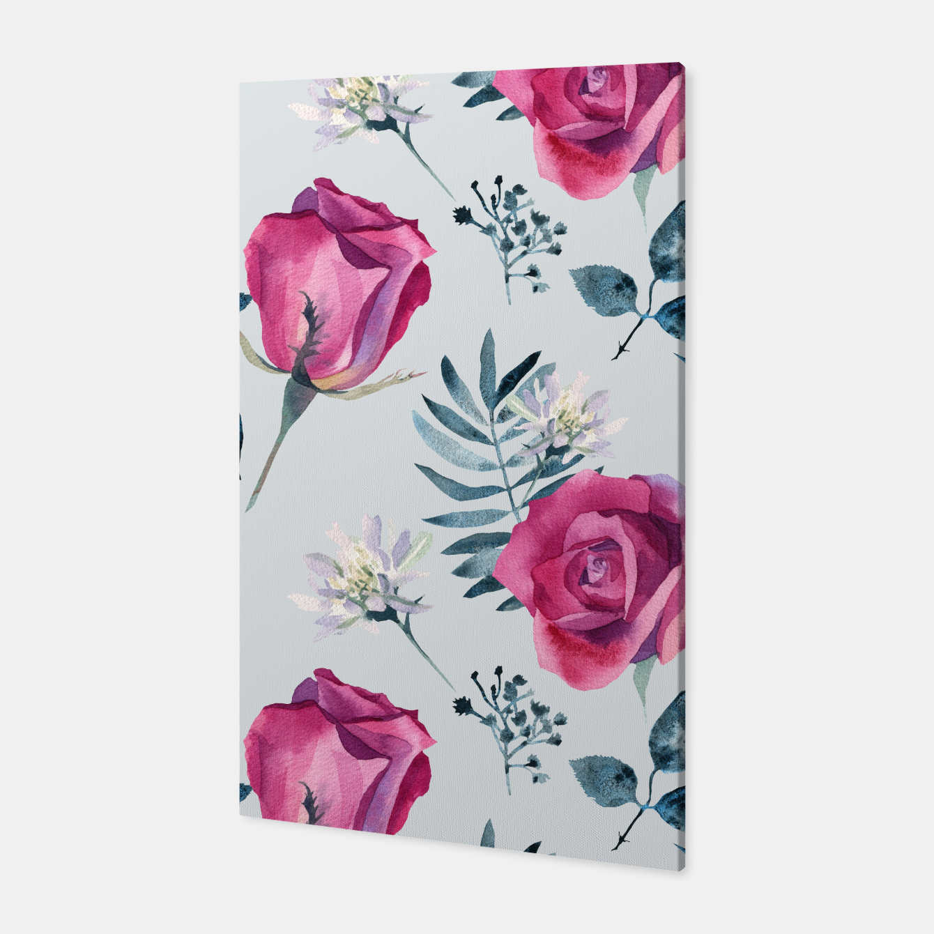 Foto Pink roses Canvas - Live Heroes