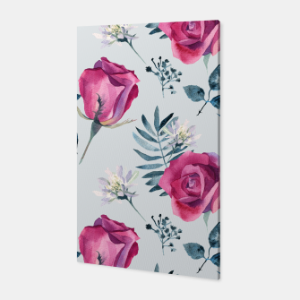 Miniatur Pink roses Canvas, Live Heroes