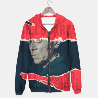 Three Billboards Outside Ebbing, Missouri Cotton zip up hoodie thumbnail image