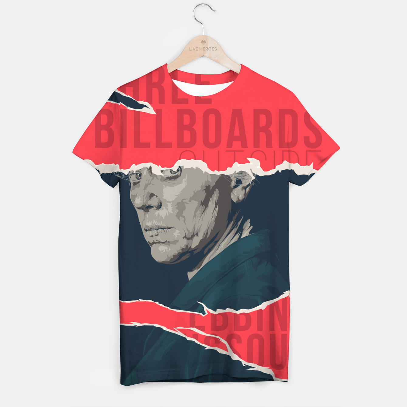 Image of Three Billboards Outside Ebbing, Missouri T-shirt - Live Heroes