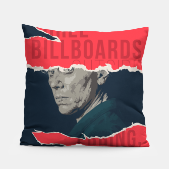 Three Billboards Outside Ebbing, Missouri Pillow thumbnail image