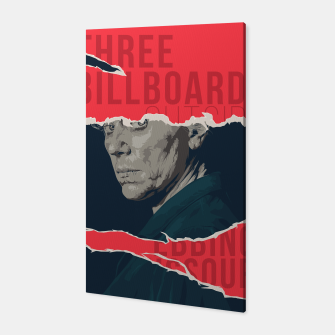 Three Billboards Outside Ebbing, Missouri Canvas thumbnail image