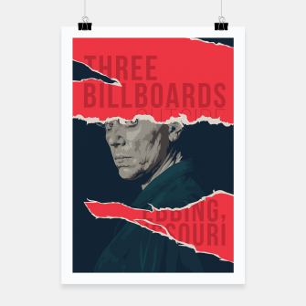 Thumbnail image of Three Billboards Outside Ebbing, Missouri Poster, Live Heroes