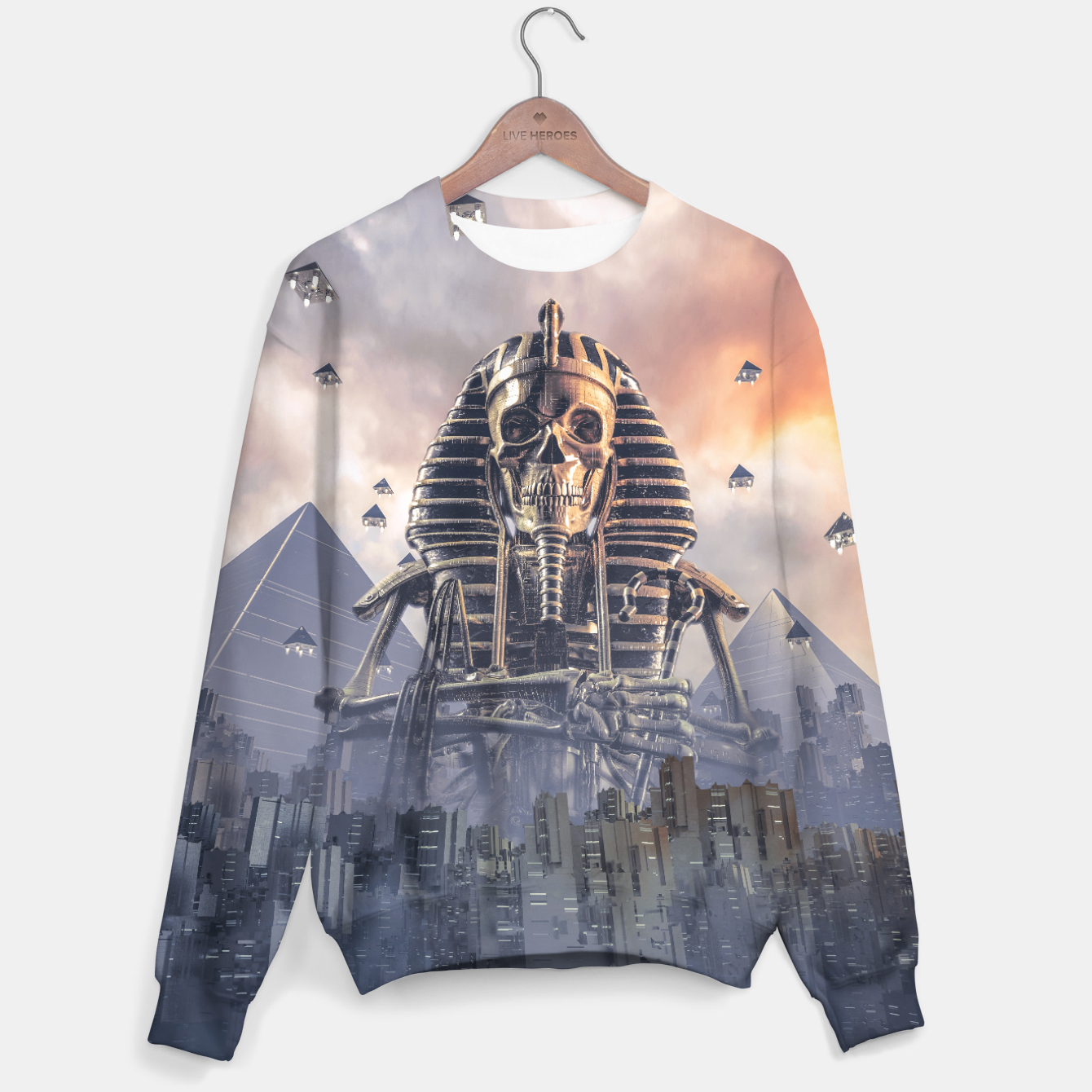 Image of Gods of New Egypt Cotton sweater - Live Heroes