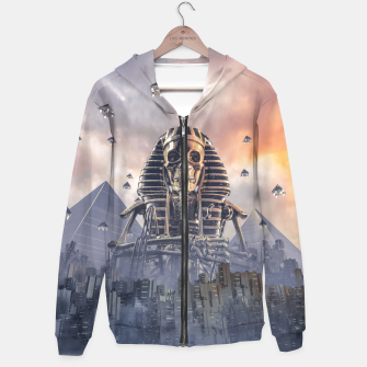 Gods of New Egypt Cotton zip up hoodie thumbnail image