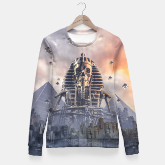 Thumbnail image of Gods of New Egypt Woman cotton sweater, Live Heroes