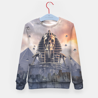 Thumbnail image of Gods of New Egypt Kid's sweater, Live Heroes