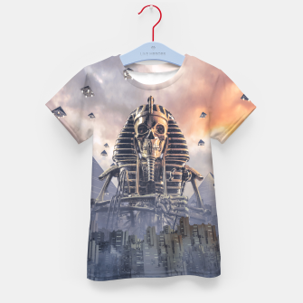 Thumbnail image of Gods of New Egypt Kid's t-shirt, Live Heroes