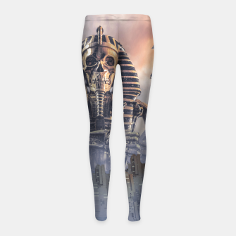 Thumbnail image of Gods of New Egypt Girl's leggings, Live Heroes