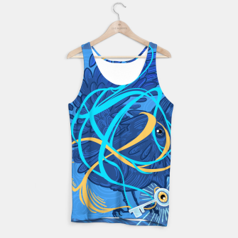 Thumbnail image of A Raven Thought Tank Top, Live Heroes