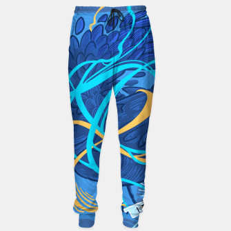 Thumbnail image of A Raven Thought Cotton sweatpants, Live Heroes