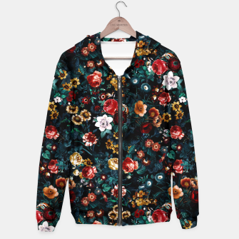 Thumbnail image of EXOTIC GARDEN - NIGHT VI Cotton zip up hoodie, Live Heroes