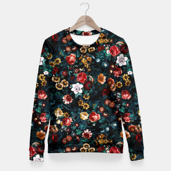 Thumbnail image of EXOTIC GARDEN - NIGHT VI Woman cotton sweater, Live Heroes