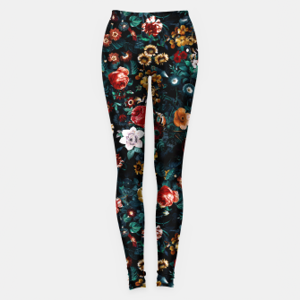 Thumbnail image of EXOTIC GARDEN - NIGHT VI Leggings, Live Heroes
