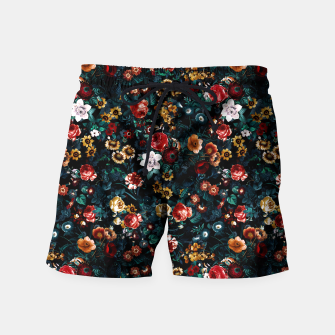 Thumbnail image of EXOTIC GARDEN - NIGHT VI Swim Shorts, Live Heroes