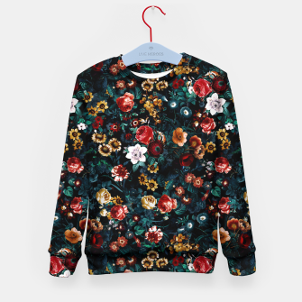 Thumbnail image of EXOTIC GARDEN - NIGHT VI Kid's sweater, Live Heroes