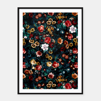 Thumbnail image of EXOTIC GARDEN - NIGHT VI Framed poster, Live Heroes