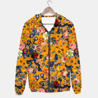 Thumbnail image of Summer Botanical Garden IX Cotton zip up hoodie, Live Heroes