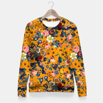 Thumbnail image of Summer Botanical Garden IX Woman cotton sweater, Live Heroes