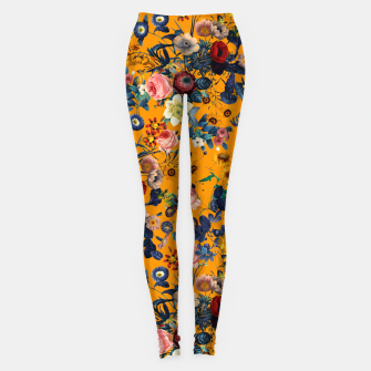 Thumbnail image of Summer Botanical Garden IX Leggings, Live Heroes