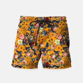 Thumbnail image of Summer Botanical Garden IX Swim Shorts, Live Heroes