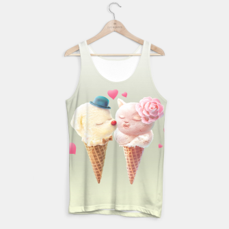 Thumbnail image of Ice Cream Love Tank Top, Live Heroes