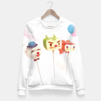 Thumbnail image of Cake Pops Women sweater, Live Heroes
