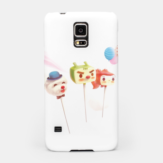 Thumbnail image of Cake Pops Samsung Case, Live Heroes