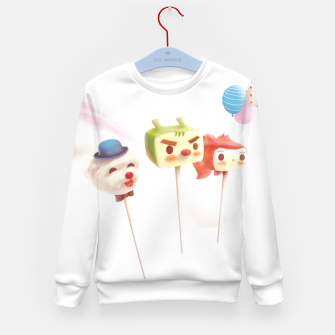 Thumbnail image of Cake Pops Kid's sweater, Live Heroes
