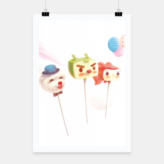 Thumbnail image of Cake Pops Poster, Live Heroes