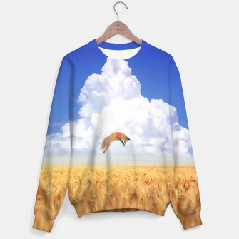 Miniature de image de Fox Landscape Cotton sweater, Live Heroes