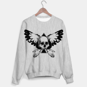 Thumbnail image of SKULL ACE PNK Cotton sweater, Live Heroes